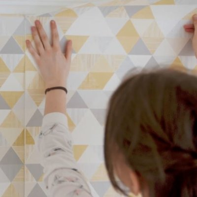 ... with wallpaper, there is no easier way to learn than with Paste the Wall Wallpaper. It is easy to work with and weighs less, which means there is less ...
